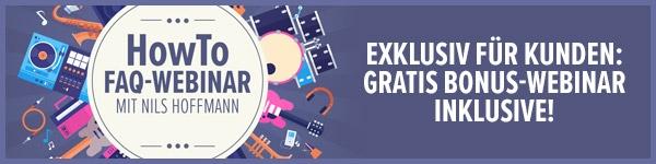 Exklusiv für Kunden: Gratis Bonus-Webinar inklusive!